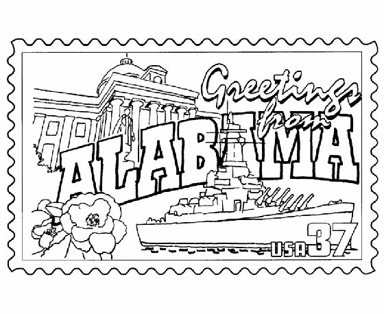 50 best images about State Coloring Pages on Pinterest