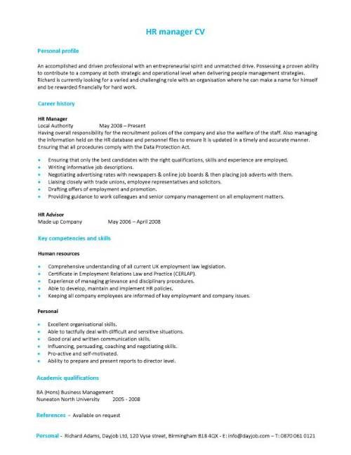 17 Best Ideas About Cv Examples On Pinterest Simple