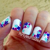 1000+ ideas about Flower Nails on Pinterest