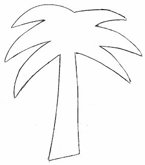 Palm trees, Tree templates and Palms on Pinterest