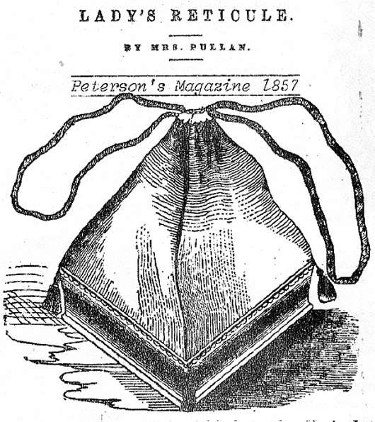 17 Best images about historical bag,reticule on Pinterest
