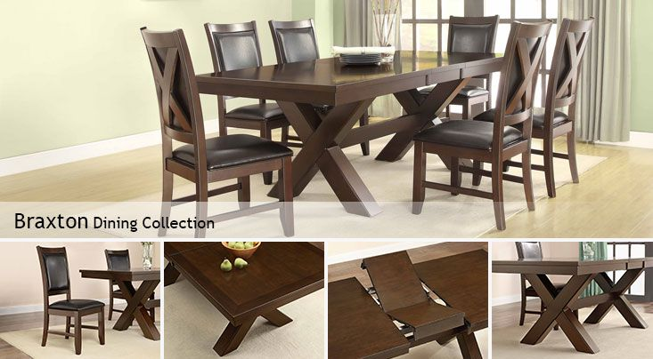 Costco Braxton Dining Collection Dining Room Pinterest Table And Chairs Dining Sets And