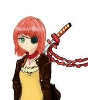 15 - anime pirate girl pins