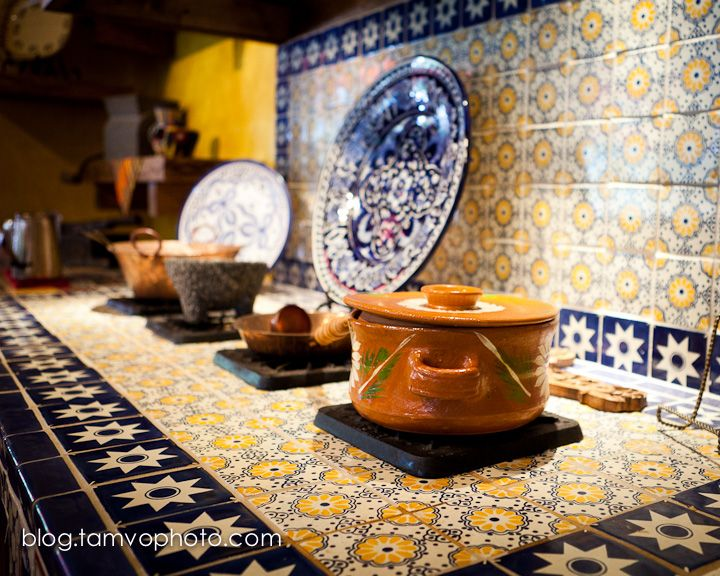 Decorating with Mexican Talavera Tile  Wisdom Mexican
