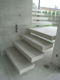 25+ best ideas about Concrete stairs on Pinterest | Modern ...
