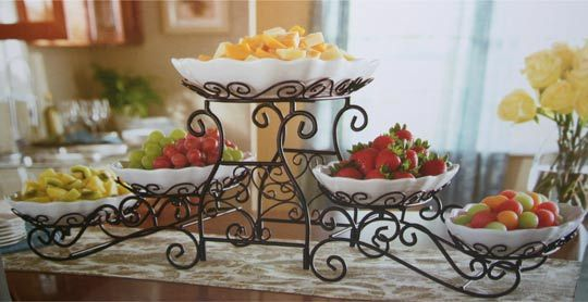 5 Tiered Buffet Server with dish  Home  Pinterest