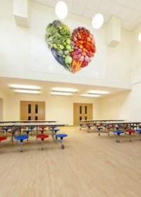 √ School Cafeteria Door Design | Elementary Schools & Lower