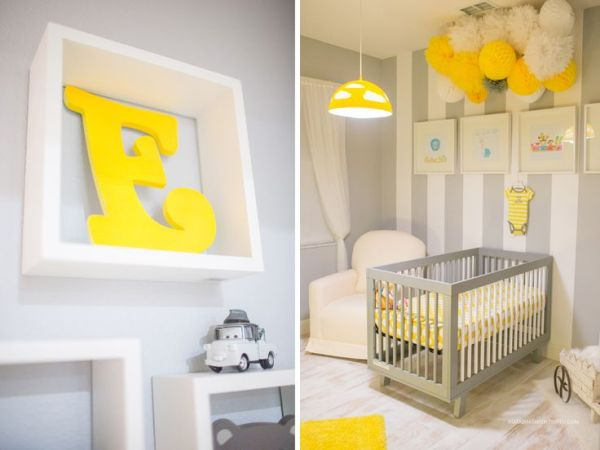77 best Baby boys Yellow amp Gray nursery images on Pinterest