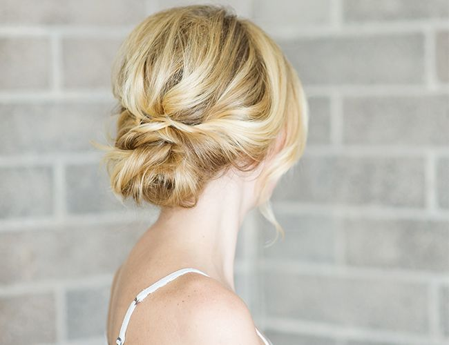 25 Best Ideas About Low Bun Wedding Hair On Pinterest Low Updo