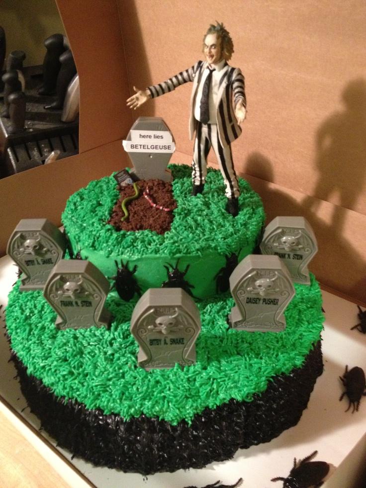Beetlejuice Cake Cake Tim Burton Examples Pinterest