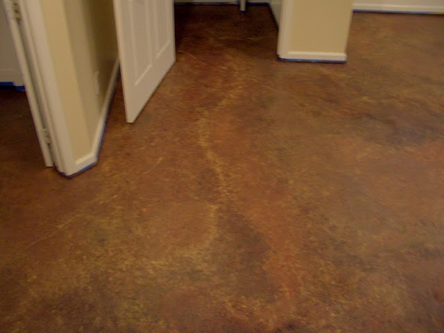 DIY faux marble floor so doing this in our basement  For