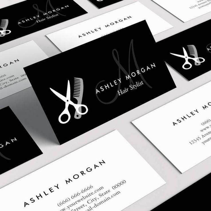 Best 25 Hairstylist business cards ideas on Pinterest