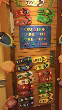 Our Cruises | Cruise Cabin Door Decorations | Pinterest ...
