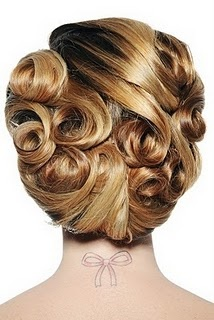 25 Best Ideas About Pin Curl Updo On Pinterest Vintage Updo