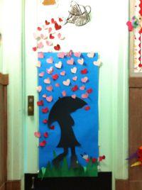 Valentines day classroom door PS176   Holiday Doors ...
