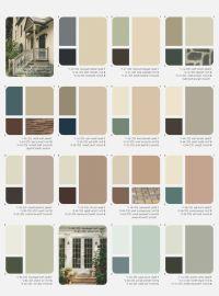25+ best ideas about Exterior Paint Color Combinations on ...