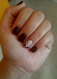 1000+ ideas about Maroon Nails on Pinterest | Maroon Nail ...