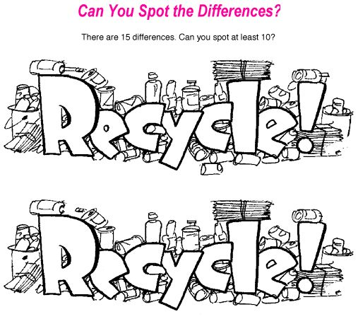 Do your kids love spot the difference puzzles? Print this