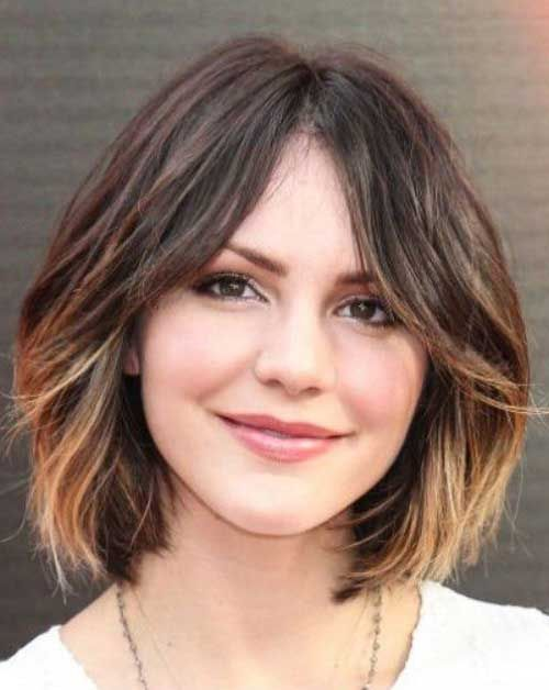 25 Best Ideas About Round Face Hairstyles On Pinterest