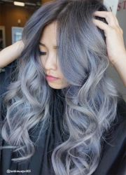 1000 ideas silver hair colors