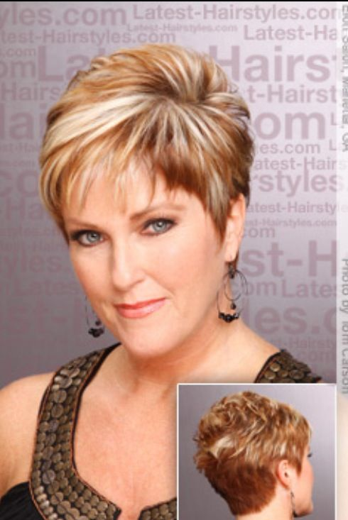 61 Best Images About Short Hairstyles For Women In Their 50s On