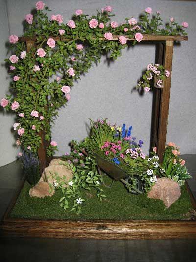 ideas dollhouse landscaping