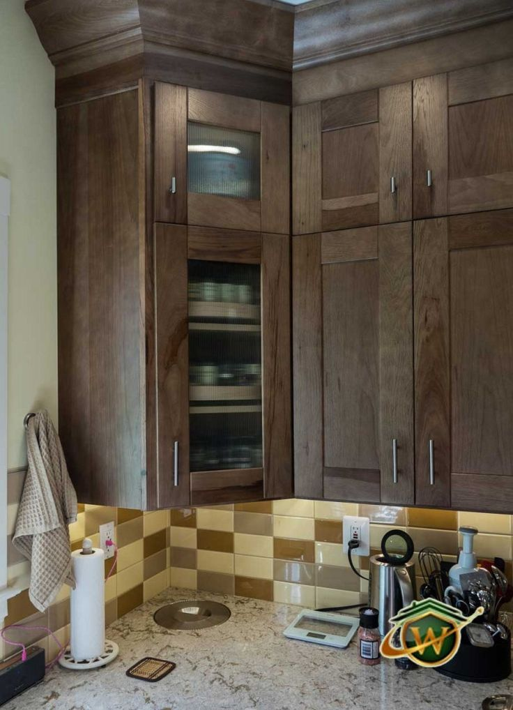 k07 Wolf Designer Cabinets  Murano door style in maple