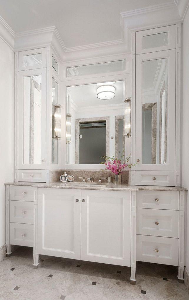 17 Best ideas about Small Bathroom Cabinets on Pinterest  Bathroom closet Small basement
