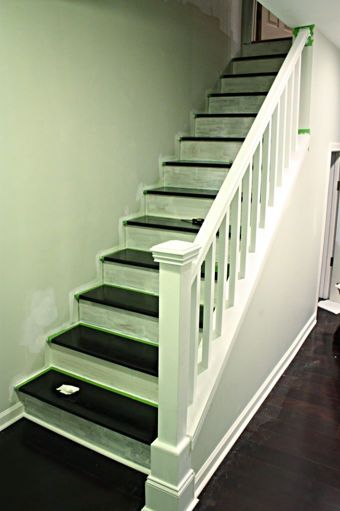Before  After of the Year  Colors Stairs and Basement stairway