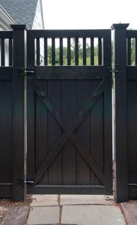 Best 25+ Black fence ideas on Pinterest | Black fence ...