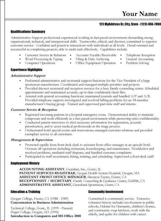 17 Best Ideas About Functional Resume Template On