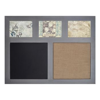 Sheffield Home Chalkboard And Memo Board 3 Opening Frame