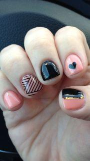 gel manicure nail design #nailart