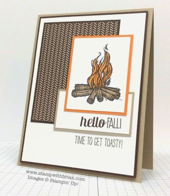 The Great Outdoors, For All Things, Making Spirits Bright, Stampin' Up!, Brian King, FMS151