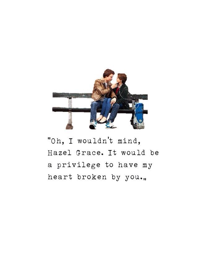 17 Best images about The Fault In Our Stars on Pinterest