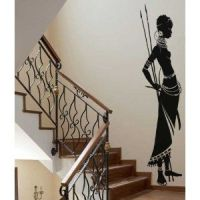 African wall art, African tribes and Africans on Pinterest