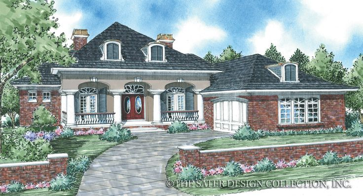 17 Best images about Sater Designs on Pinterest  Luxury house plans House plans and Porticos