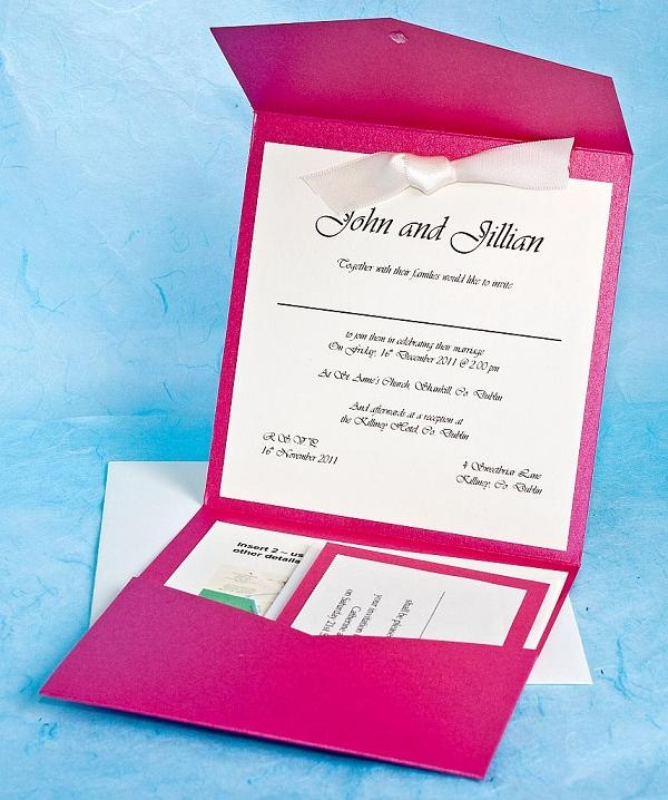 Fuschia And Orange Wedding Invitations Weddinginvite
