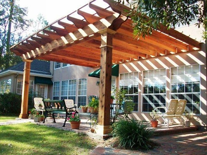 25 Best Ideas About Pergola Attached To House On Pinterest Deck