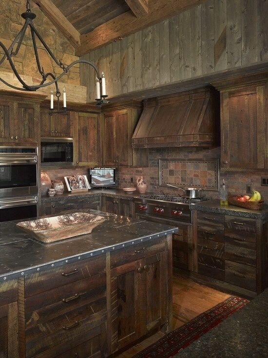 Badass Kitchen For The Future Home Pinterest Wood