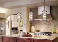 When hanging pendant lights over a kitchen island, like ...