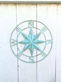 Nautical Compass Wall Art, Nautical Decor, Nautical Wall ...