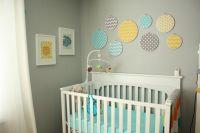 Jacks Nursery | Circles, Grey and Neutral nursery colors