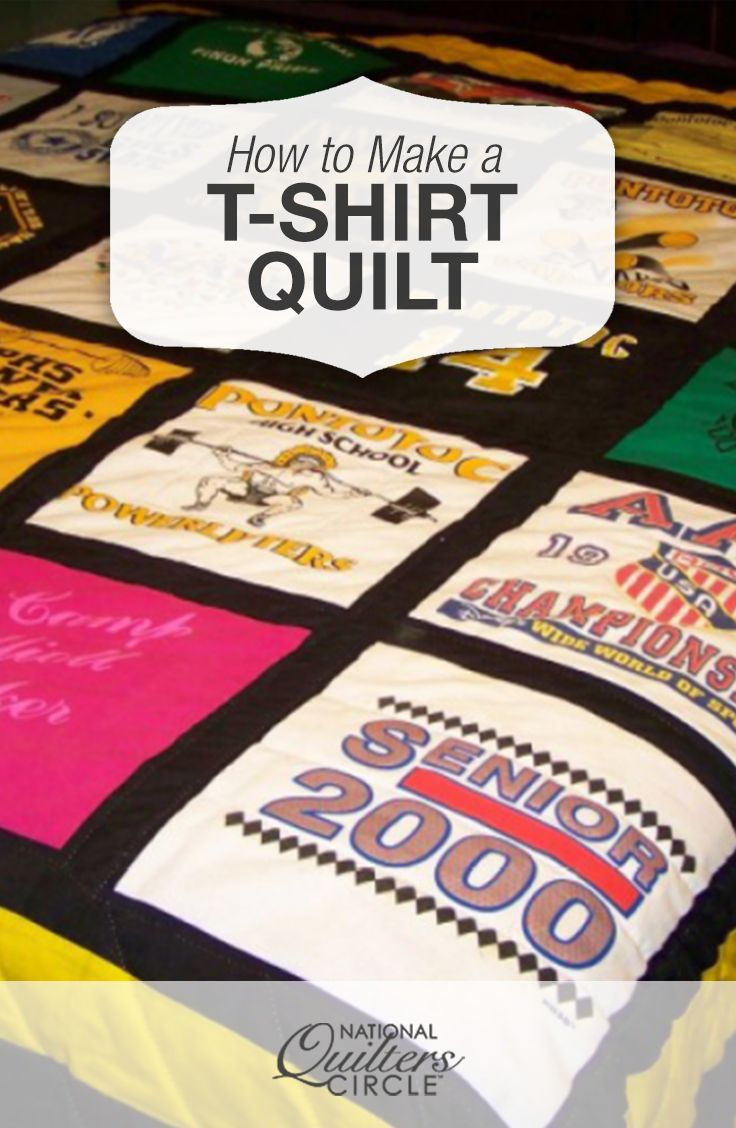 T Shirt Quilt Tutorial Missouri Star