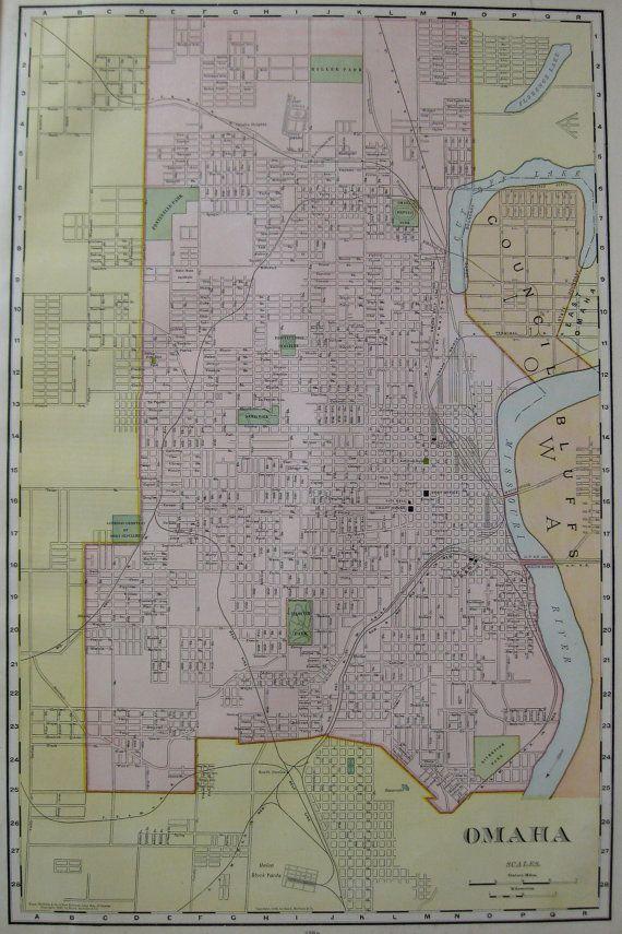 48 best Omaha Historical Maps images on Pinterest