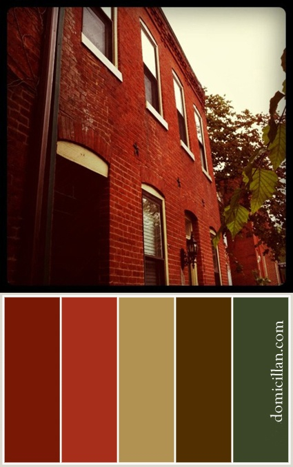 12 Best Images About Colors The Compliment Red Brick