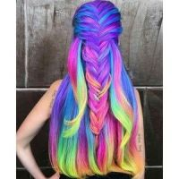 17 Best ideas about Neon Hair Color on Pinterest