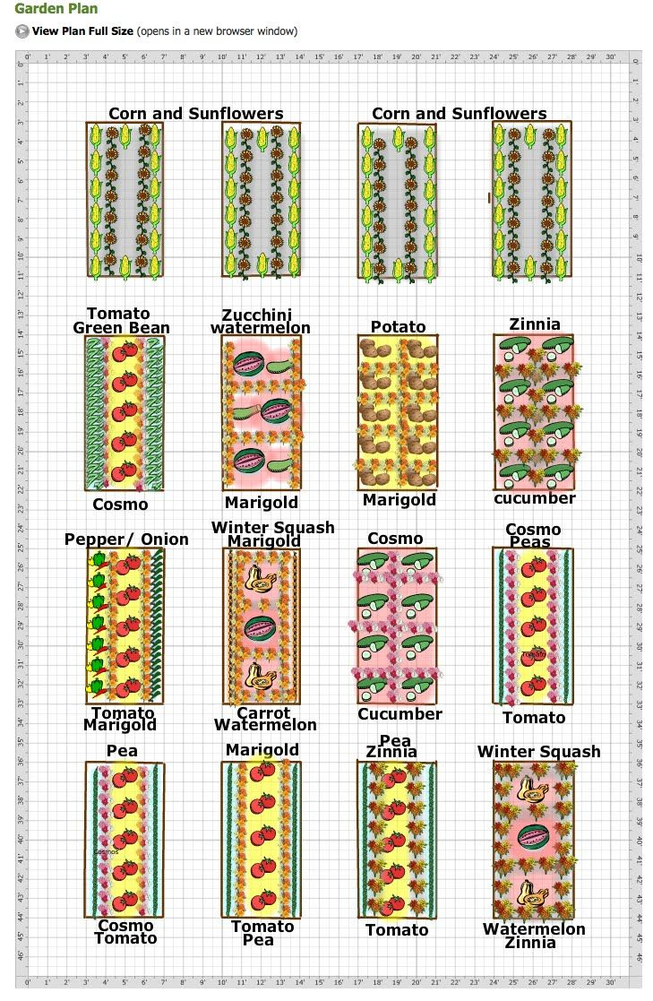 The 25 Best Ideas About Vegetable Garden Layouts On Pinterest