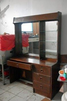 Jati Furniture Minimalis Tolet  Meja Rias Jati Minimalis  TOLET JATI MINIMALIS  Pinterest