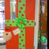 Christmas Classroom Door Decor or Bulletin Board (Wrapped ...